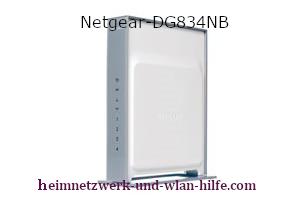 Netgear-DG834NB  Wlan Router N