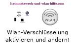 WLAN WPA / WEP Verschlüsselung aktivieren oder ändern!