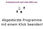 Abgestürzte Windows Programme mit einem Klick beenden