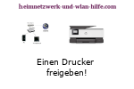 Anleitung: Einen Drucker freigeben!