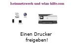 Anleitung: Einen freigegebenen Drucker einrichten