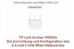 TP-Link Archer VR900v - 2,4 und 5 GHz Wlan-Netzwerk konfigurieren