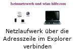 Auf Netzlaufwerke mit Hilfe des Windows Explorers zugreifen