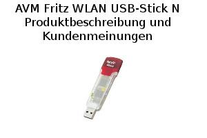 AVM Fritz WLAN USB-Stick N - Produktbeschreibung und Kundenmeinungen