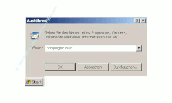 Benutzergruppen anzeigen lassen - compmgmt.msc