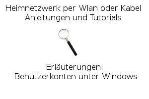 Benutzerkonten unter Windows