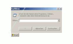 Schritt für Schritt Anleitung: Windows Konto gesperrt - Konto wieder freigeben - Benutzerkonto Sperre aufheben - Start Ausführen - Fenster Ausführen mit Eingabefeld