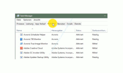 Computerstart beschleunigen – Task-Manager Register Autostart