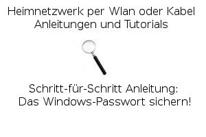 Das Windows-Passwort sichern