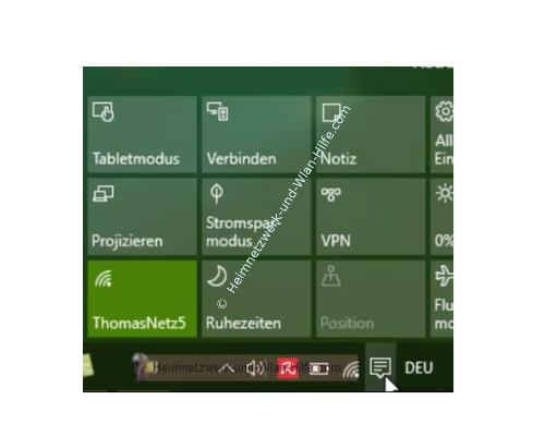 Windows 10 - Wichtige erste Anlaufstellen – Das Info-Center bzw. Action-Center