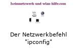 Der Netzwerkbefehl ipconfig