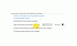 Windows 10 Tutorial - Mauszeiger konfigurieren – Die Option, Legen Sie die Breite des blinkenden Cursors fest