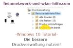 Die Windows 10 Druckverwaltung