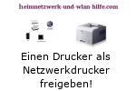 Einen Drucker als Netzwerkdrucker freigeben