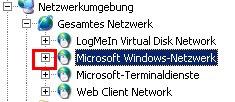 Windows Arbeitsgruppen im Windows Explorer anzeigen lassen - Das geöffnete Microsoft Windows Netzwerk
