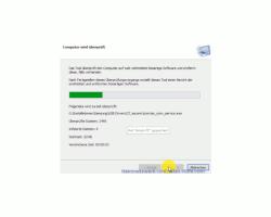 Windows 10  Tutorial - Schadprogramme, wie Malware und Spyware mit dem Malware Removal-Tool (MRT) entfernen! - Fortschrittsbalken des Scanprozesses des MRT-Tools