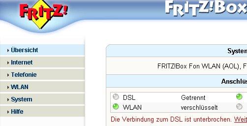Netzwerk Tutorial: Die WLAN-Konfiguration eines Fritzbox Wlan-Routers ausdrucken! Fritzbox Konfigurationsmenü
