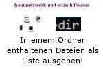 Windows 10 Tutorial - In einem Ordner enthaltene Dateien als Liste in eine Textdatei schreiben!