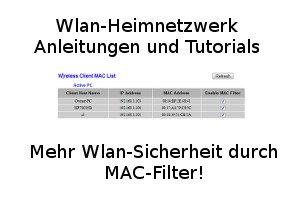 mac filter in den wlan router einstellungen konfigurieren beispiel fritzbox. Black Bedroom Furniture Sets. Home Design Ideas