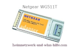 Netgear WG511T Wlan G PCMCIA-Karte