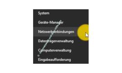 Windows 10 Netzwerk Tutorial – Netzwerkverbindung über das Startmenü aufrufen