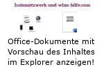 Windows 10 Tutorial - Office-Dokumente mit Vorschau des Dateiinhaltes im Explorer anzeigen!
