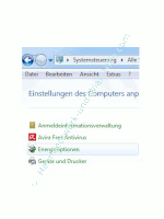 Windows Tutorials und Anleitungen: Computer per Netzschalter herunterfahren - Windows 7 Systemsteuerung Energieoptionen