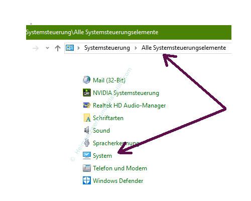 Mit Ping und Ipconfig Ursachen für Probleme im Netzwerk finden – Das Konfigurationsfenster System aufrufen