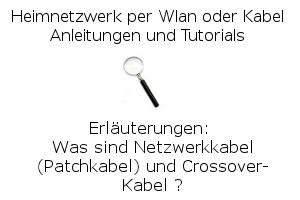 Was sind Netzwerkkabel? Erläuterungen zu Patchkabel und Crossoverkabel