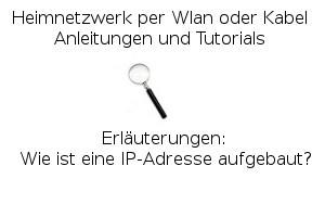Wie ist eine IP-Adresse aufgebaut?