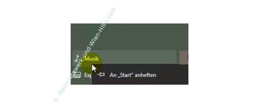 Windows 10 - Den Kachelbereichen im Startmenü eigene Überschriften vergeben – Apps, Programme und Anwendungen als Kachel über an Start anheften einbinden