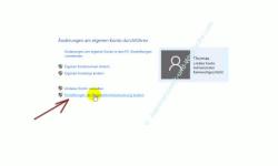 Die neue Benutzerverwaltung – Link: Einstellungen der Benutzerkontensteuerung ändern