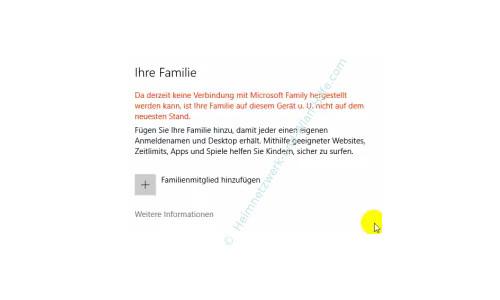 Die neue Benutzerverwaltung – Die neue Benutzerverwaltung Familie