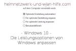 Windows 10 - Die automatische Benutzeranmeldung aktivieren und deaktivieren