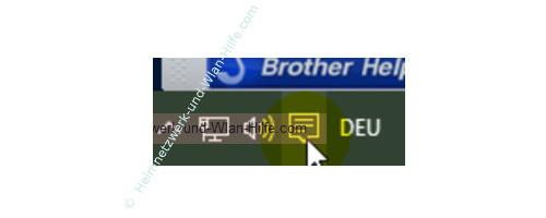 Das Windows 10 Info-Center – Das Info-Center Icon in der Taskleiste
