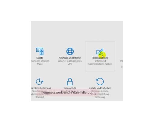 Windows 10 - Die Kachelanzahl im Startmenü von 3 auf 4 erhöhen – Menü Einstellungen, Personalisierung