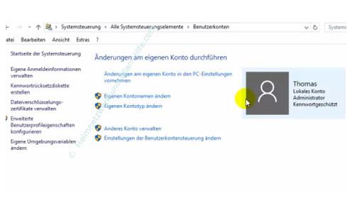 konto zum admin machen windows 10