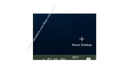 Windows 10 - Virtuelle Desktops nutzen – Die Aktionsfläche Neuer Desktop