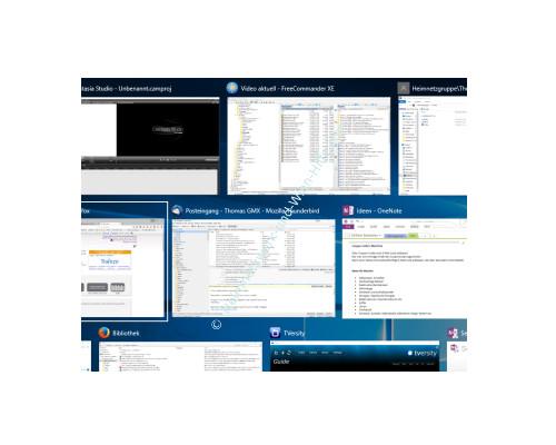 Windows 10 - Virtuelle Desktops nutzen – Programme in der Taskansicht
