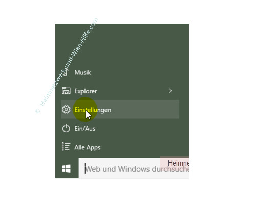 Auf wichtige Windows 10 Systemfunktionen schnell zugreifen – Einstellungen über das Startmenü aufrufen