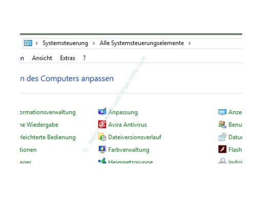 Windows 10 - Tutorial - Überflüssige Schriftarten für ein schnelleres System entfernen – Die Systemsteuerungselemente der Systemsteuerung