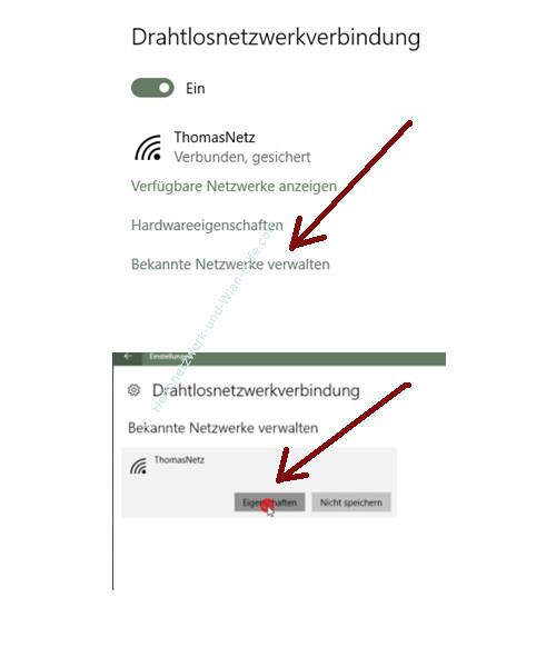Windows 10 Tutorial - Wlan-Einstellungen und Wlan-Passwort anzeigen lassen – Bekannte Netzwerke verwalten