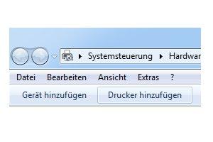 Heimnetzwerk Tutorials: Drucker im Windows 7 Netzwerk gemeinsam nutzen - Geräte und Drucker hinzufügen