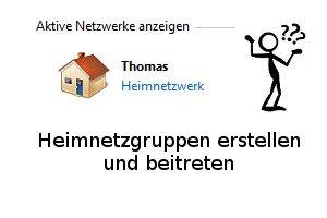 Die Windows-Heimnetzgruppe im eigenen Computernetzwerk nutzen