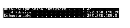 Netzwerk Tutorials und Anleitungen: IP-Adresse anzeigen lassen - Kommandozeile Anzeige der IP-Adressen aller Netzwerkadapter