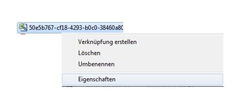 Private Informationen in Dateien und Dokumenten entfernen! - Kontextmenü einer Datei - Auswahl Eigenschaften
