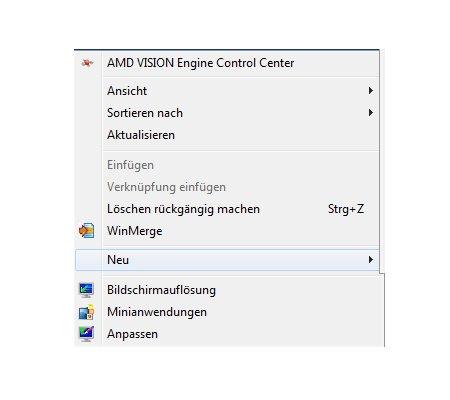 Windows Tutorial: Abgestürzte Windows Programme mit einem Klick beenden - Windows 7 - Neue Verknüpfung erstellen - erster Schritt