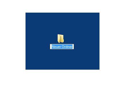 Windows Anleitungen: Schneller Zugriff auf das eigene Benutzerkonto - Windows 7 Desktop - Neuen Ordnernamen vergeben