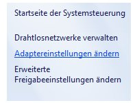 Heimnetzwerk Tutorial: Netzwerkverbindung per Doppelklick beenden oder starten - Windows 7 Adaptereinstellungen ändern