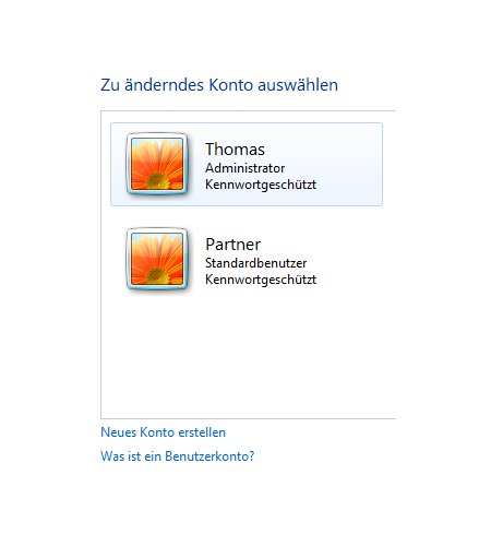 Windows Tutorials: Benutzerkonto mit Systembefehl net user anlegen - Windows 7 Erstelltes Benutzerkonto anzeigen
